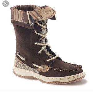 Sperry Bluefish Tall Lace Boots